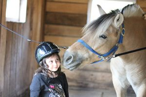 Local Girl Benefits from Board of Developmental Disability services, Horse Therapy