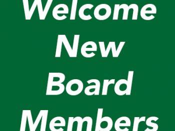 Welcome Board Members